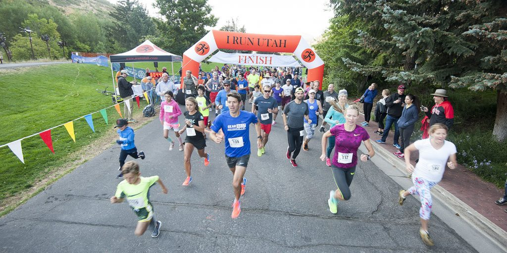 Park City Miners' Day 5k 2016. (Tom Kelly)
